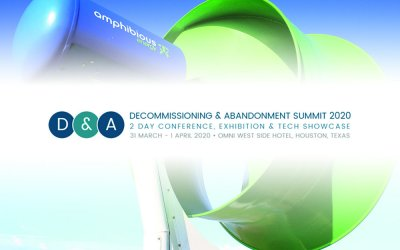 Amphibious Energy bronze sponsor at Decommissioning & Abandonment Summit 2020 in Houston