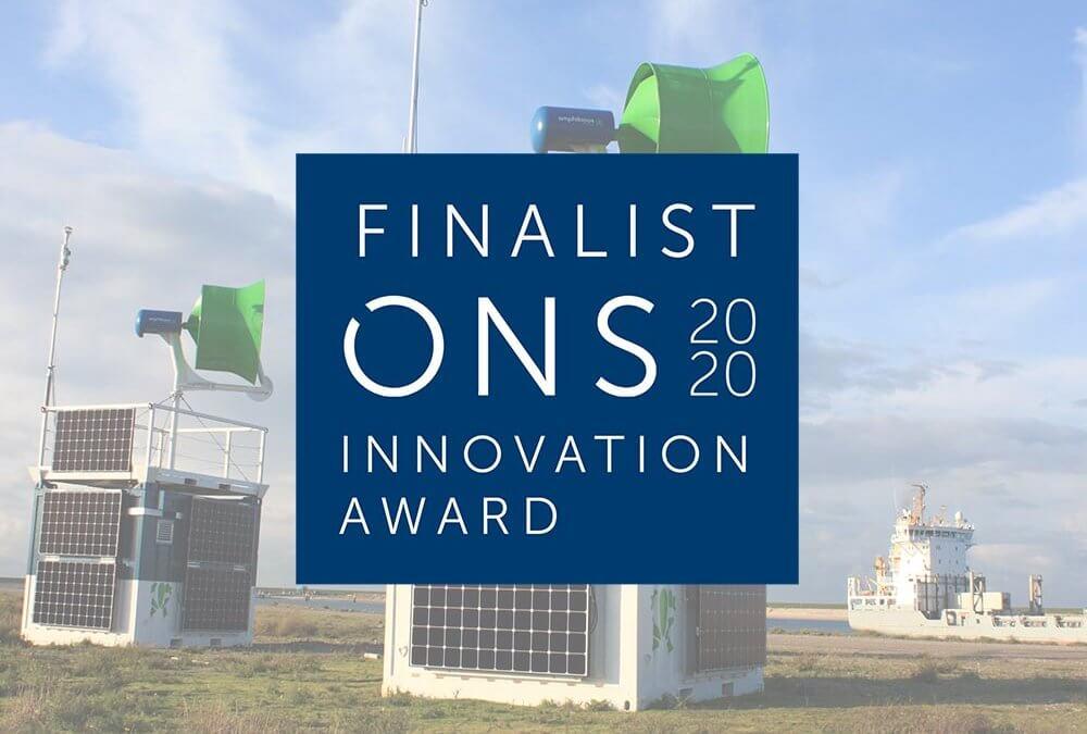 ONS 2020 Innovation Awards finalist!